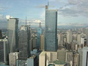 PBCom over Makati skylines