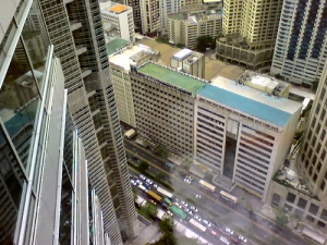 A view from the Philamlife Tower