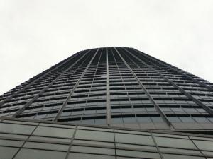 Facade of PBCom Tower