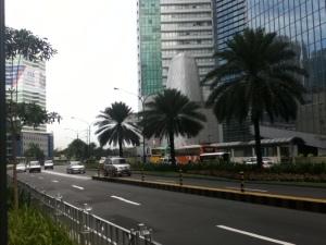 Ayala Avenue near Makati Medical Center