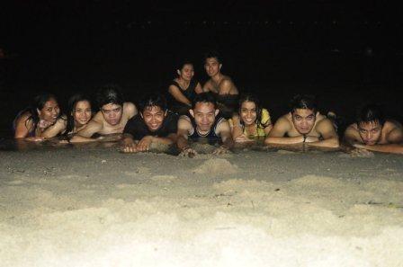 HS classmates ko with some ampons sa Laiya, Batangas