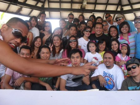 Company Outing in Morong, Bataan