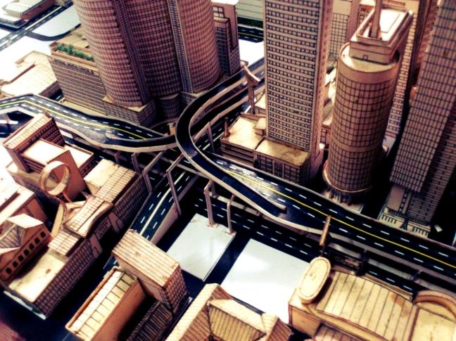 Axial Avenue-Centennial Avenue Interchange