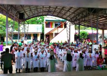 C.M. Azcarate Graduation 2013 from the stage